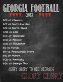 it's football season: Go UGA!