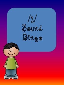 /j/ Sound Bingo (j,ge, dge, gi)