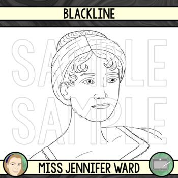 Jane Austen Clipart