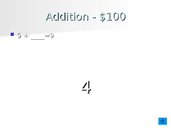 jeopardy 2nd grade math game