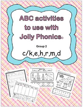 jolly phonics:  2
