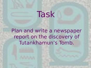 Journey into TUT'S tomb