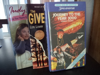 Journey, Giver, Are You There God?  (SET OF 3)
