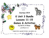 Journeys 2014/2017 Kindergarten Unit 3 Bundle