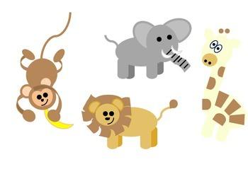 jungle animal clip art