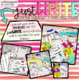 just WRITE!! {Personal Word Wall & Writing Checklist Folder!!}