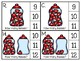 just add clips: clip cards_1 to 20_hershey kisses