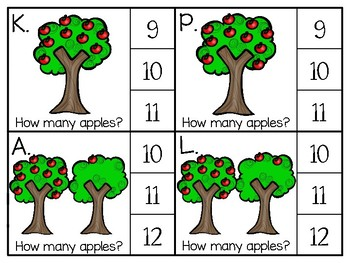 just add clips: clip cards_1 to 20_apples on tree theme