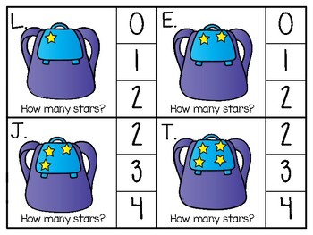 just add clips: clip cards_1 to 20_backpack stars