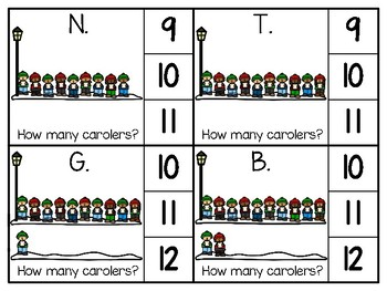 just add clips: clip cards_1 to 20_carolers