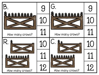just add clips: clip cards_1 to 20_crows