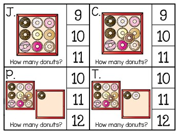 just add clips: clip cards_1 to 20_donuts