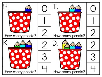 just add clips: clip cards_1 to 20_pencils