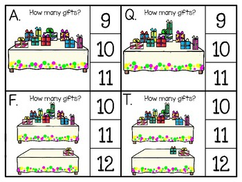 just add clips: clip cards 1 to 20_birthday gift theme