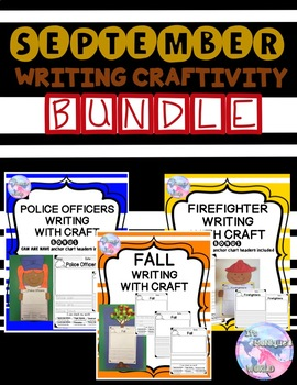September Writing and Craft Bundle