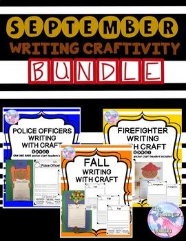 September Writing and Craft Bundle