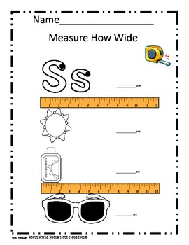 k-1st Summer Fun  Measurement  Data Weight Scale Math Centers Common Core