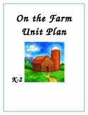 k-2 Fall Farm Unit Plan