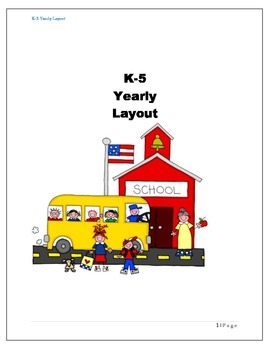 k-5 Yearly Layout