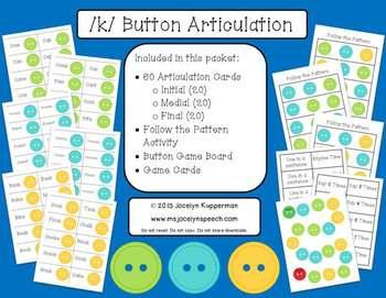 /k/ Button Articulation