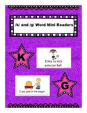 /k/ and /g/ word mini readers