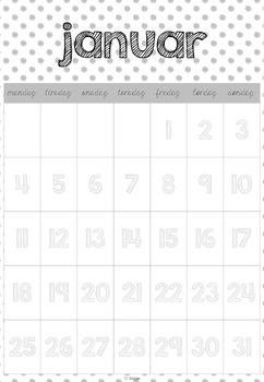 kalender 2016/2017