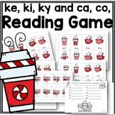 ke ki ky and ca co Reading Game