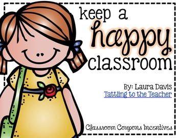 keep a HAPPY classroom: classroom coupon pack