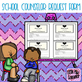 keep calm and see the school counselor slips