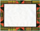 kente cloth clip art border-color