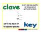 key/clave prim 1-way blue/verde