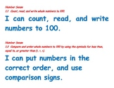 kid friendly first grade math standards for posting