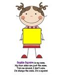 kid shape poems