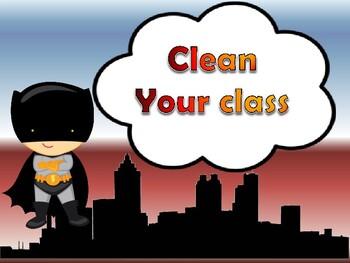 kid superhero classroom rules