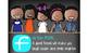 kids of color CHALKBOARD {Melonheadz} - Decor: LARGE BANNER, FRIEND - BRIGHTS