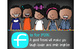 bright CHALK {melonheadz} - Decor: LARGE BANNER, FRIEND - kids of color
