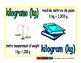 kilogram/kilogramo meas 1-way blue/verde