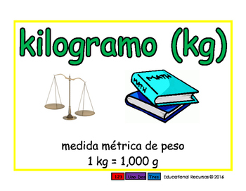 kilogram/kilogramo meas 2-way blue/verde