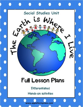 Where I Live Social Studies Unit With Lesson Plans K 1st 2nd Grades What changes did i make from my plan and why? where i live social studies unit with lesson plans k 1st 2nd grades