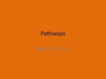 kindergarten Pathways to Reading powerpoint Day 2 letter Cc
