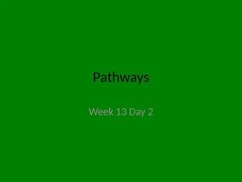 kindergarten Pathways to Reading powerpoint Day 2 letter Dd