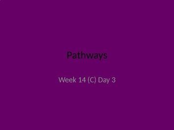 kindergarten Pathways to Reading powerpoint Day 3 letter Cc