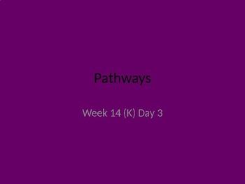 kindergarten Pathways to Reading powerpoint Day 3 letter Kk