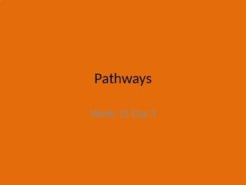 kindergarten Pathways to Reading powerpoint Day 3 letter Uu