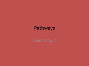 kindergarten Pathways to Reading powerpoint Day 4 letter Gg