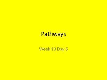 kindergarten Pathways to Reading powerpoint Day 5 letter Dd