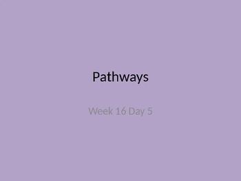 kindergarten Pathways to Reading powerpoint Day 5 letter Gg
