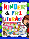 kindergarten and year 1 literacy products