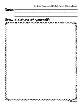 kindergarten ongoing assessment packet: fundamental litera