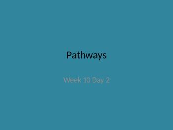 kindergarten pathways to Reading powerpoint Day 2 Letter Aa